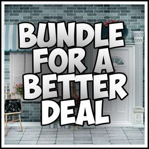 Bundle Items to get a discount!